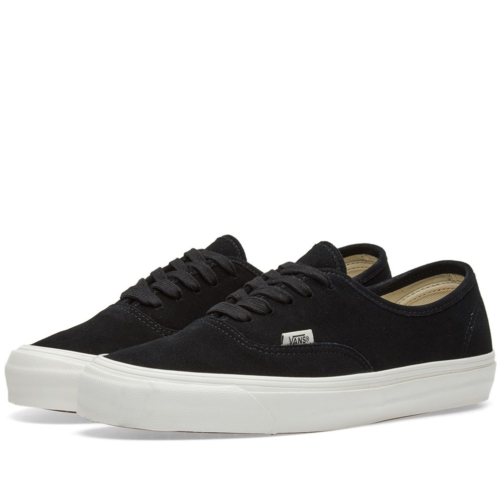58ab27551f9 Vans Vault OG Authentic LX Black Suede