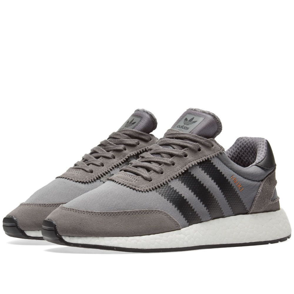 Adidas Iniki Runner Grey Four   Core Black  8e3617401