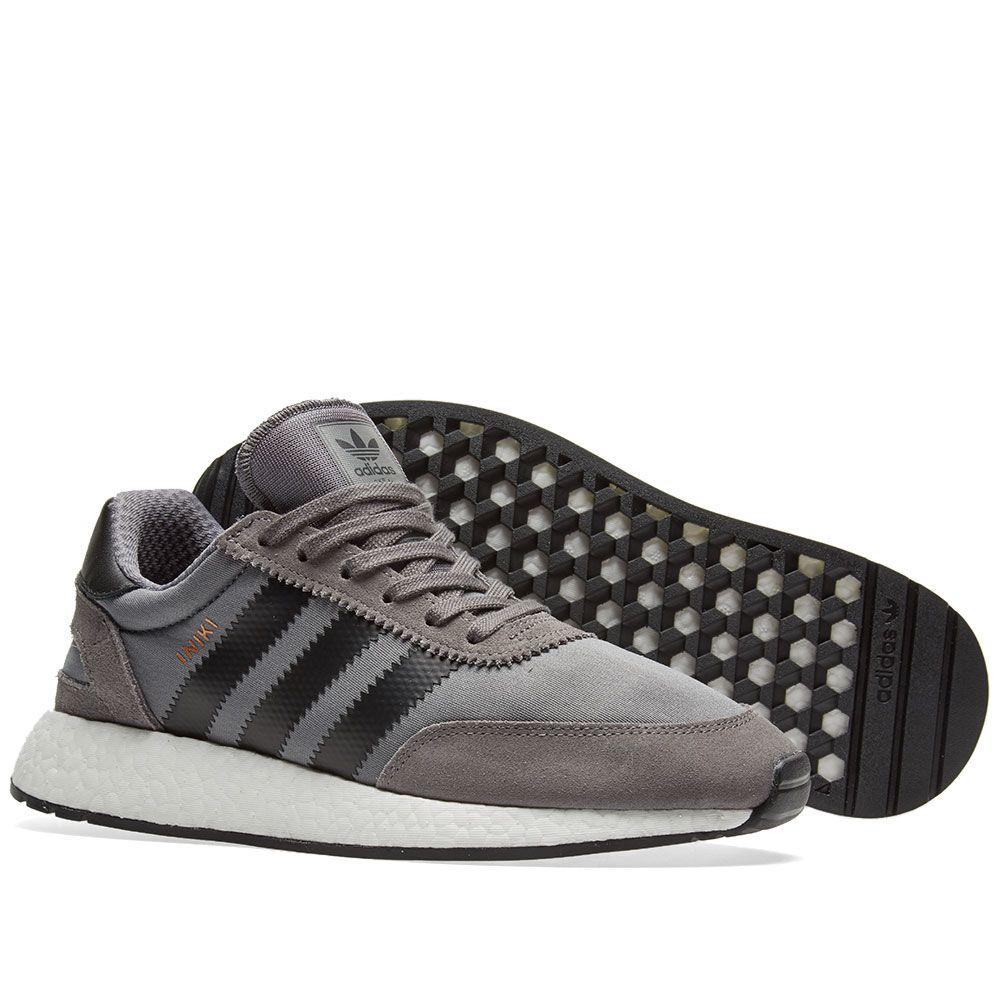 3a28066350df Adidas Iniki Runner Grey Four   Core Black