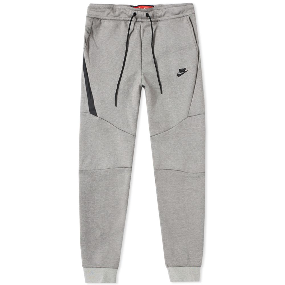 ebbe26288c7c Nike Tech Fleece Jogger Light Bone Heather   Black