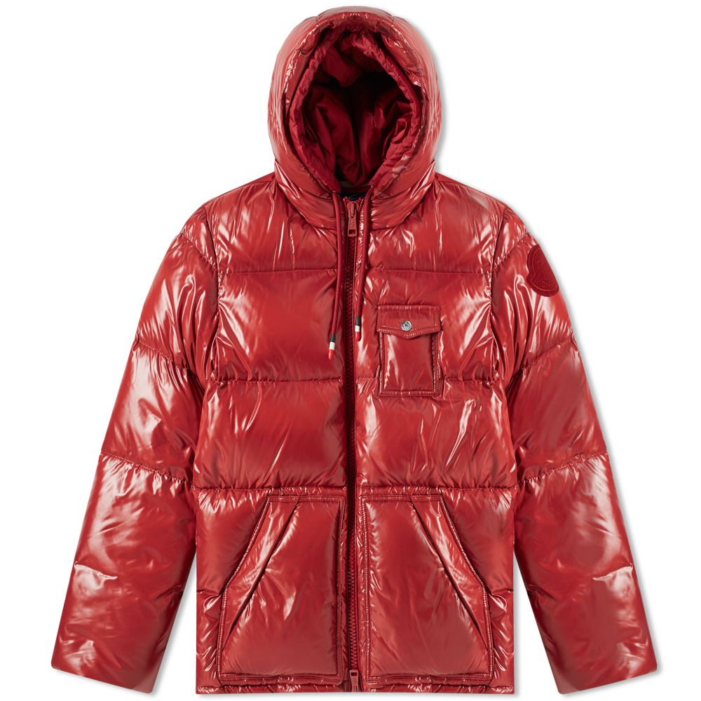 9fee2261a386 Moncler Genius 2 Moncler 1952 Apremont Hooded Down Jacket Red