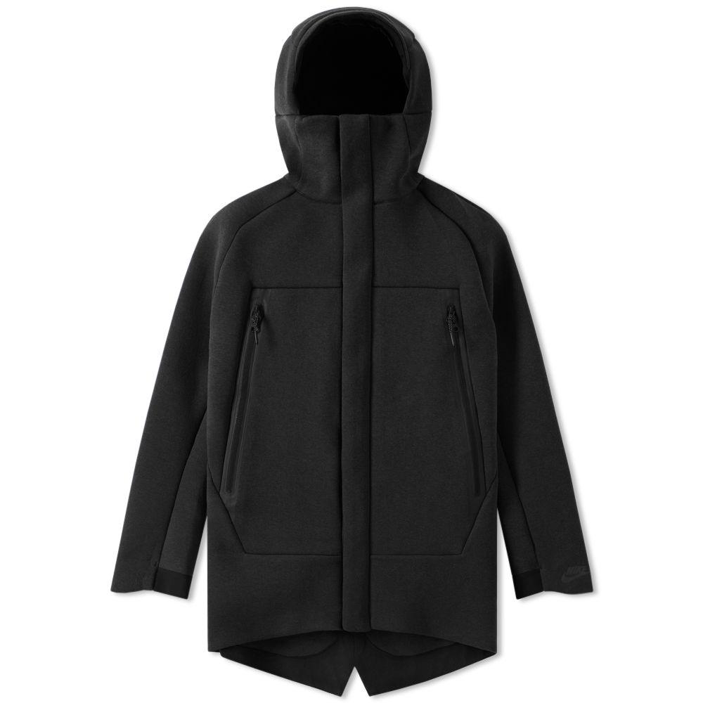95d76c8b2ae0 Nike Tech Fleece Parka Black