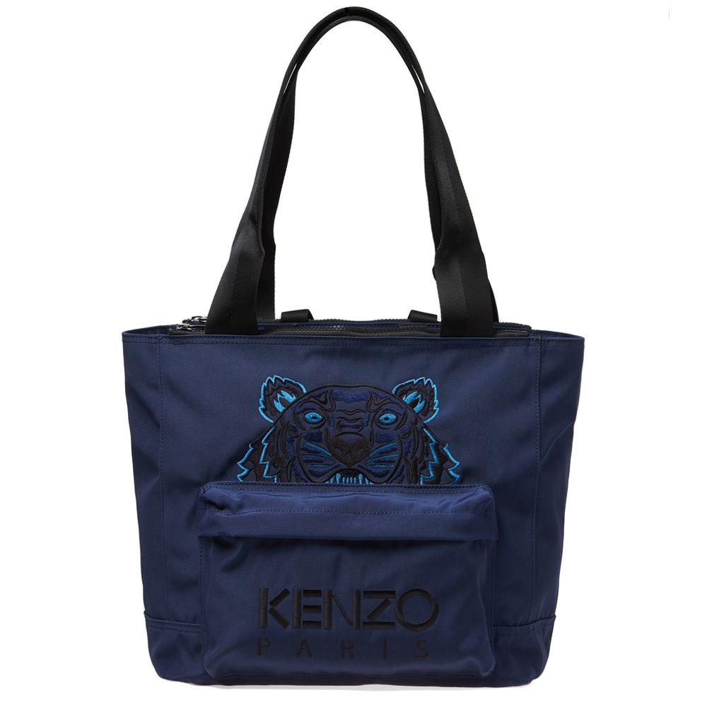 d7193d1a8b Kenzo Tiger Tote Bag Navy Blue | END.