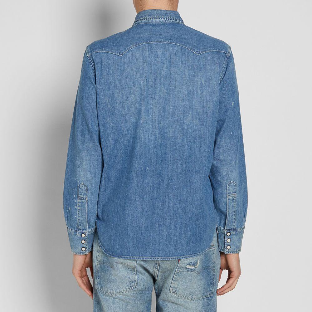 8353bb53f6 homeLevi s Vintage Clothing 1955 Sawtooth Denim Shirt. image. image. image.  image. image. image. image. image