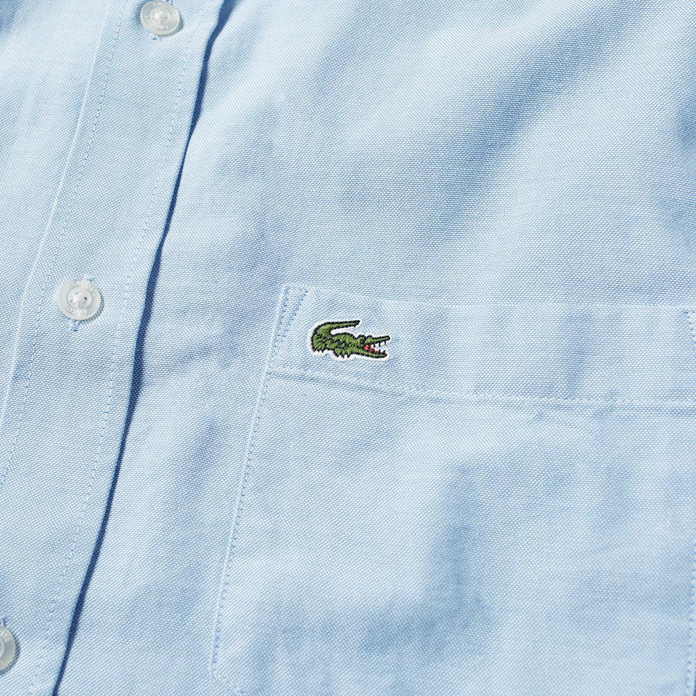 9488fa77e47cd Lacoste Button Down Oxford Shirt Sky