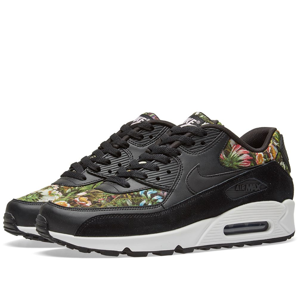 competitive price f0113 44d9f Nike W Air Max 90 SE Black, Pink   White   END.