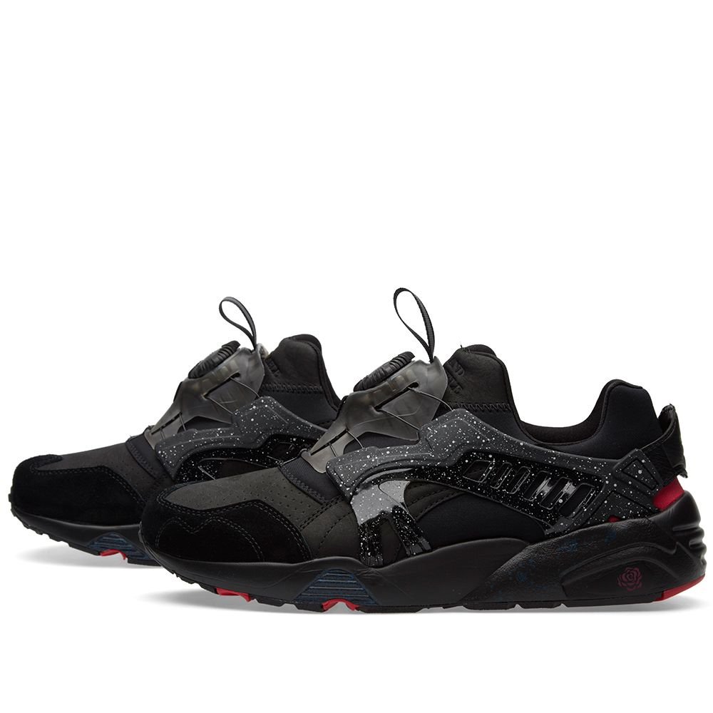 a943593d377 Puma x Crossover Disc Blaze Black   Rose Red