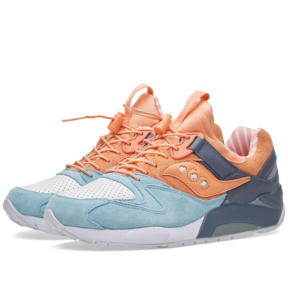 dda98a897c7d Saucony x Premier Grid 9000  Street Sweets  Light Blue