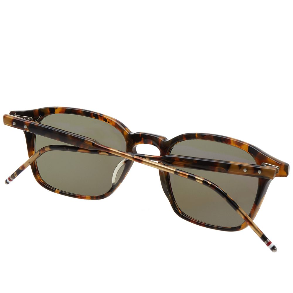 67525369587 Thom Browne TB-406 Sunglasses Tokyo Tortoise   G15