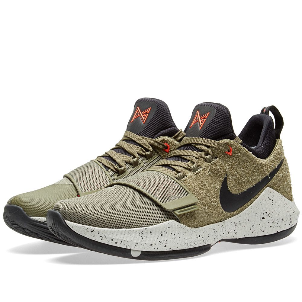 14d7b4edade1 Nike PG 1 Elements Medium Olive