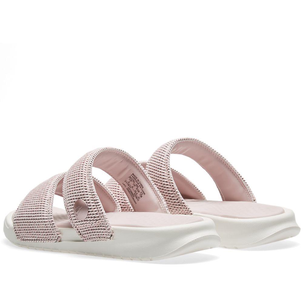 084e744817eb NikeLab x Pigalle Benassi Duo Ultra Slide Carnation