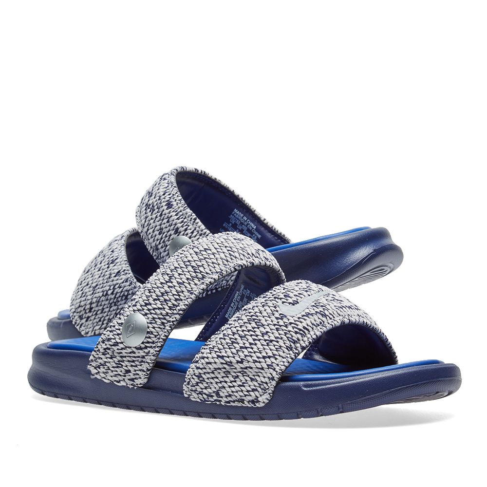 d2c69ee88ccd71 NikeLab x Pigalle Benassi Duo Ultra Slide. Loyal Blue
