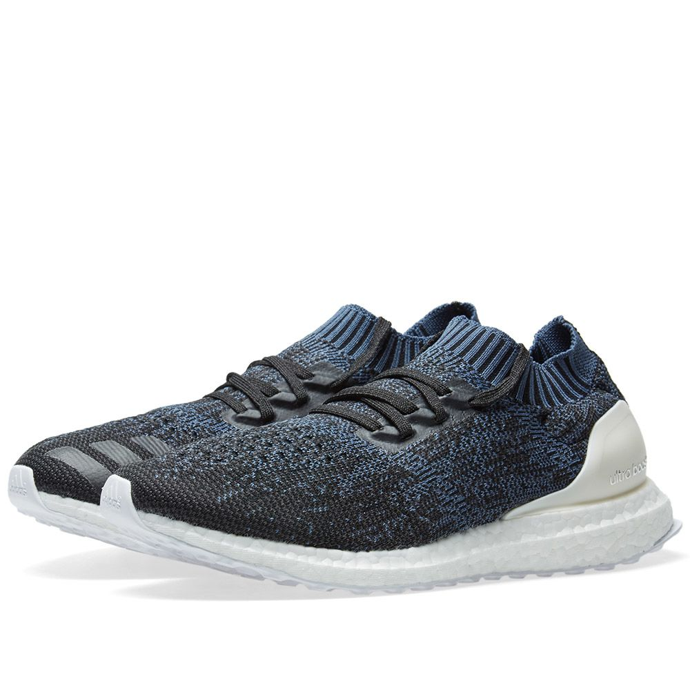 newest 66039 d6aed Adidas Ultra Boost Uncaged Tech Ink, Core Black   White   END.