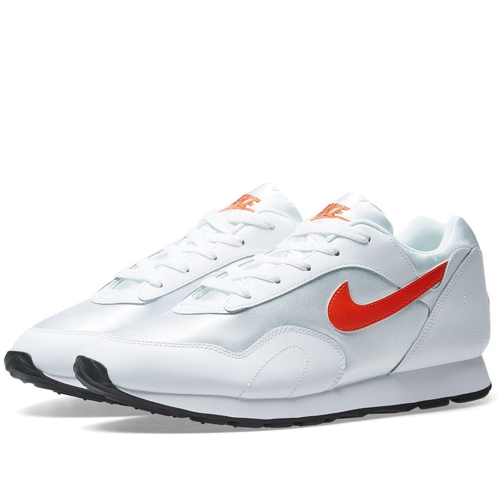 new product 0cba6 d80cd Nike Outburst W White, Orange   Black   END.