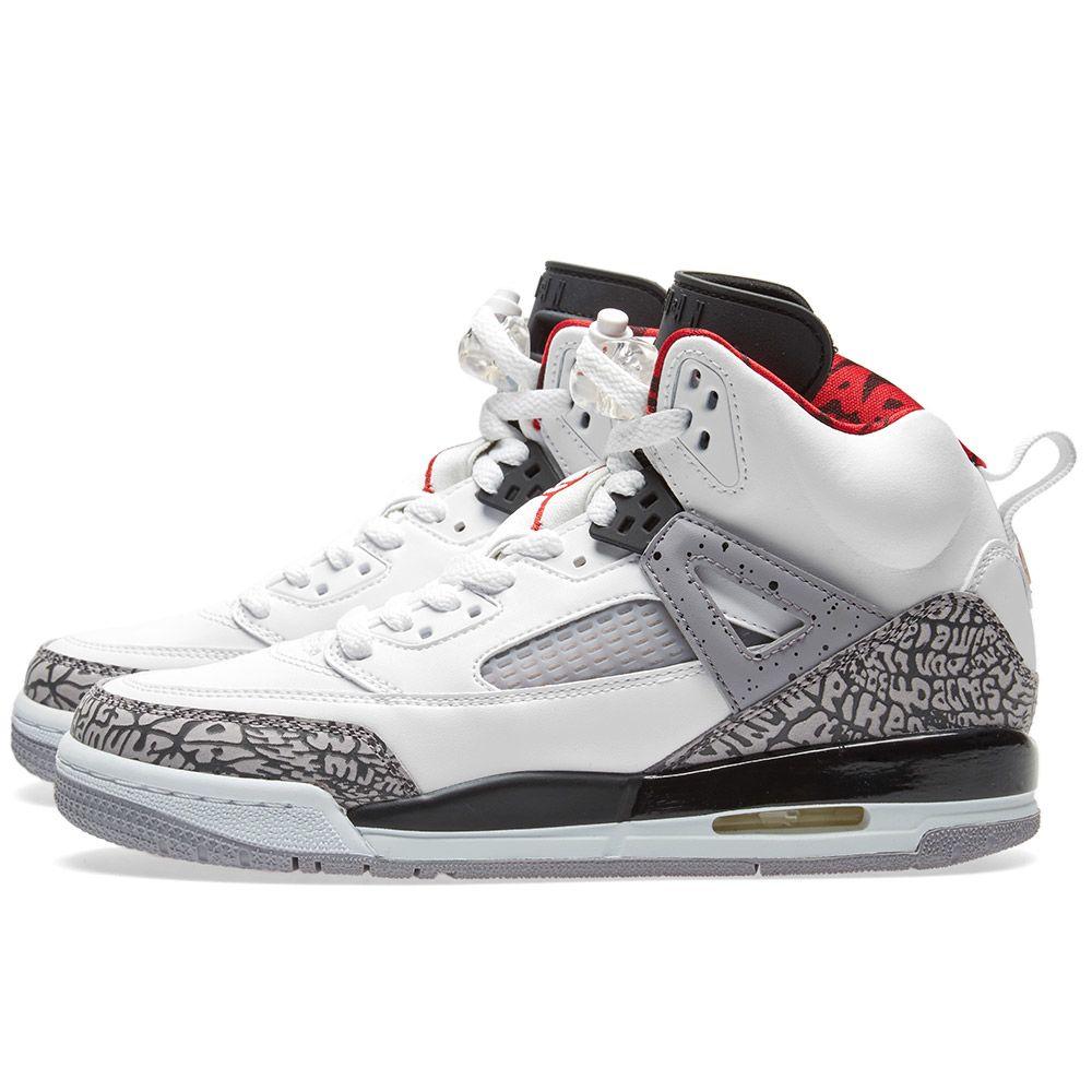 new arrivals 6a82c 91ab4 Nike Air Jordan Spizike White, Varsity Red   Grey   END.