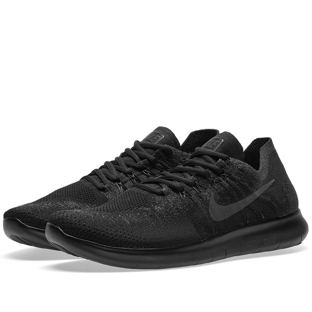 6fd6d2fbe4bb Nike Free RN Flyknit 2017 Black   Anthracite