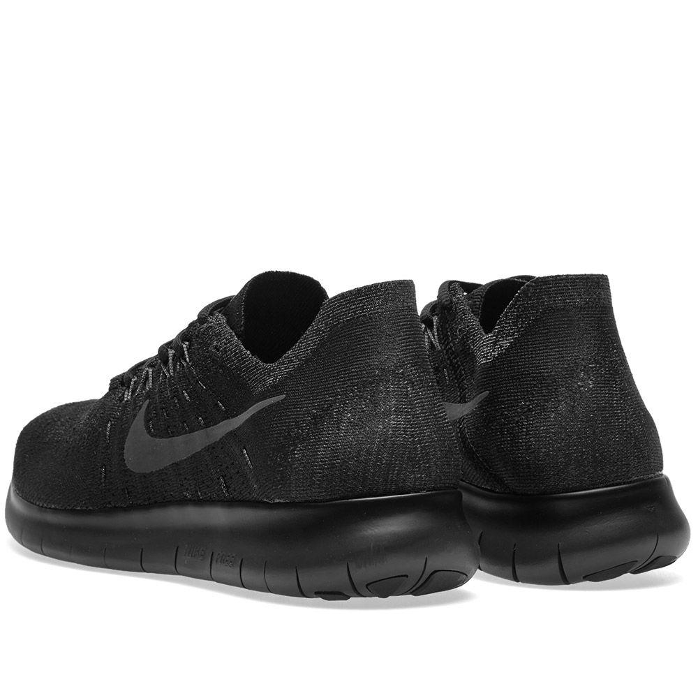 26c51e7bf7b04 Nike Free RN Flyknit 2017 Black   Anthracite