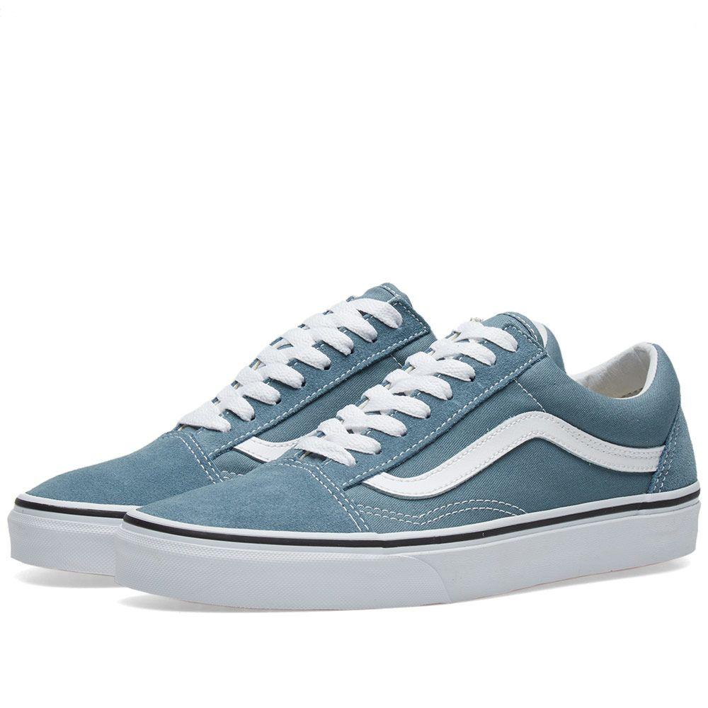 Vans Old Skool Goblin Blue   True White  fe2614595