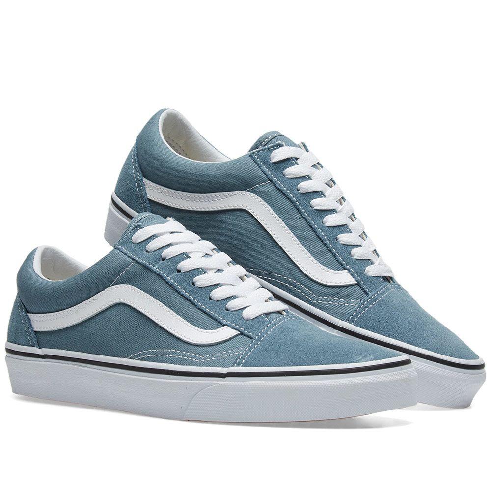 78188861258 Vans Old Skool Goblin Blue   True White