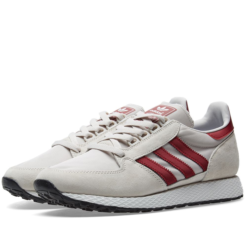 new product 15aff b0d1e Adidas Forest Grove Chalk Pearl, White  Black  END.