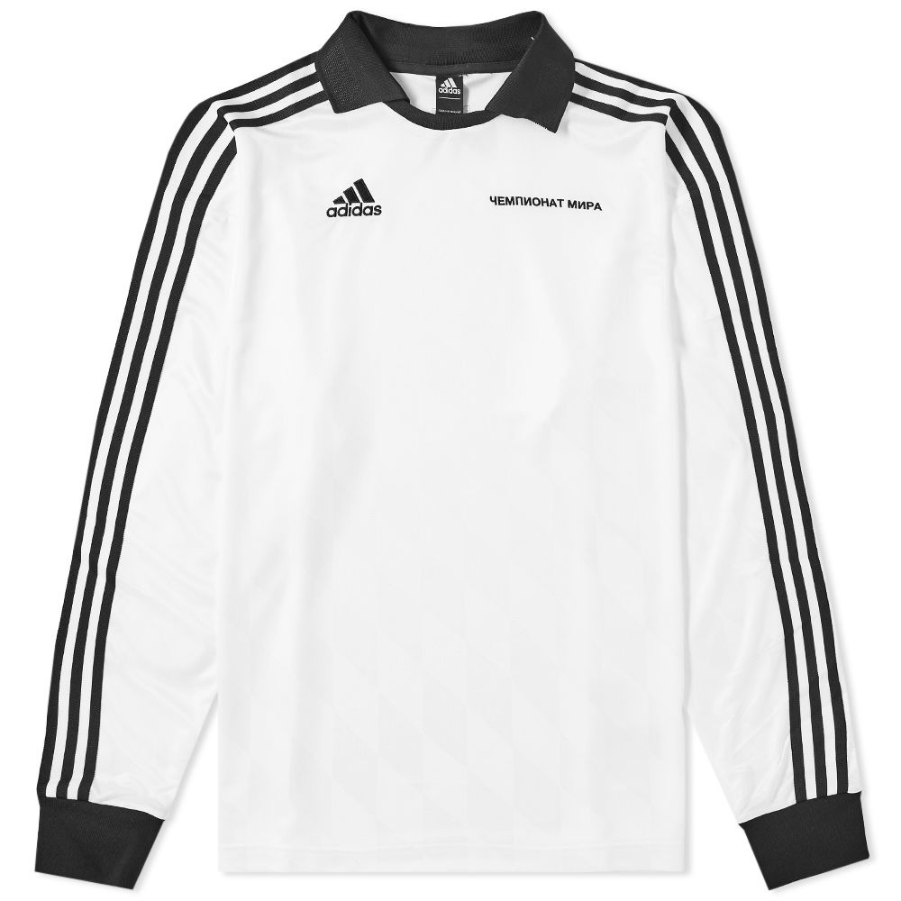 sale retailer e0be3 d05dc Gosha Rubchinskiy x Adidas Long Sleeve Jersey White  END.