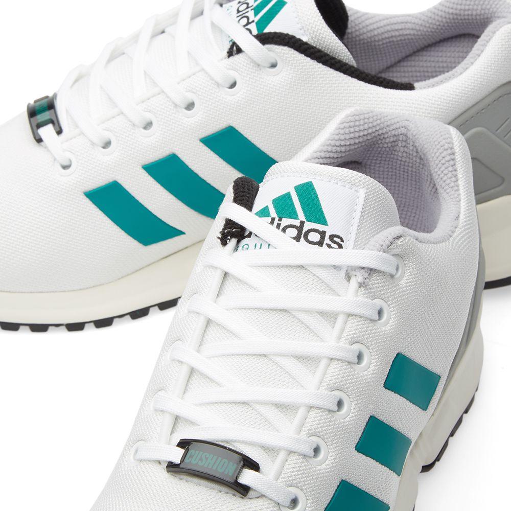 b18a38ffed63 Adidas ZX Flux EQT. White ...