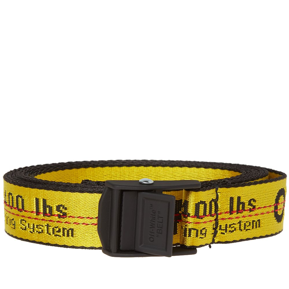 e0f648db9267 Fersk Off-White Mini Industrial Belt Yellow