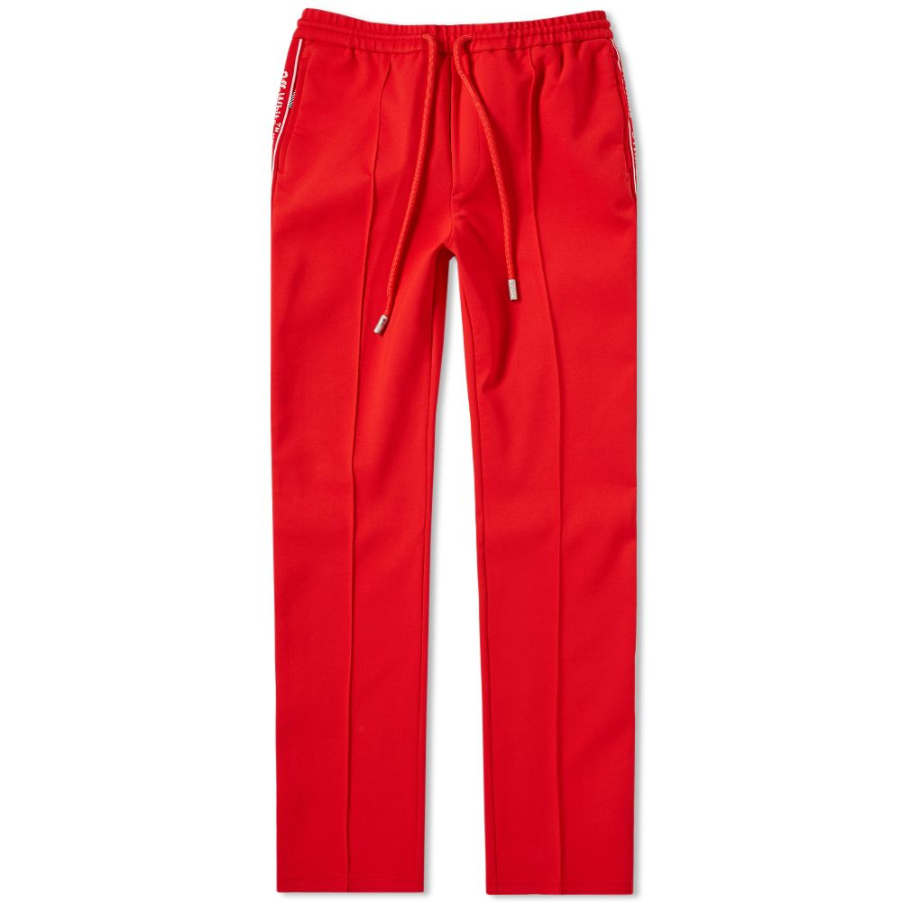 b1df1711 Off-White Taped Track Pant Red | END.