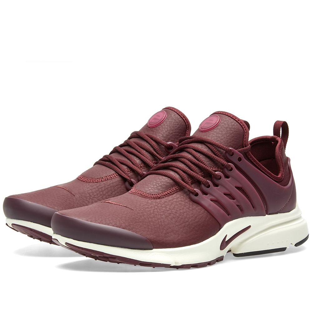 8357ab1dd8e4 Nike W Air Presto Premium Night Maroon   Sail