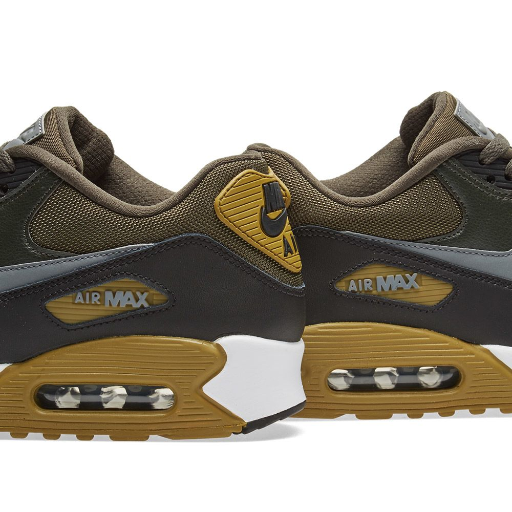 brand new 9e896 136bf Nike Air Max 90 Essential Cargo Khaki, Cool Grey  Black  END