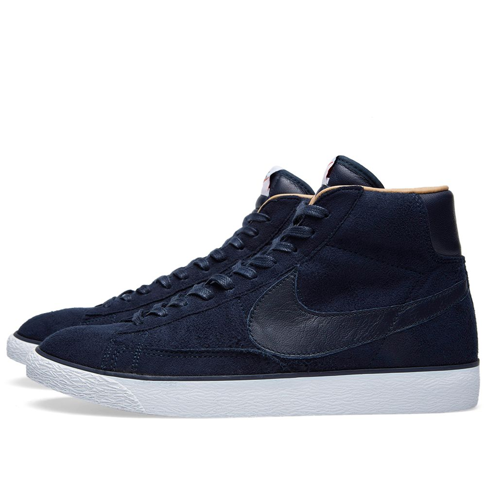 best loved ada35 ff5a6 Nike Blazer High SP Dark Obsidian  END.
