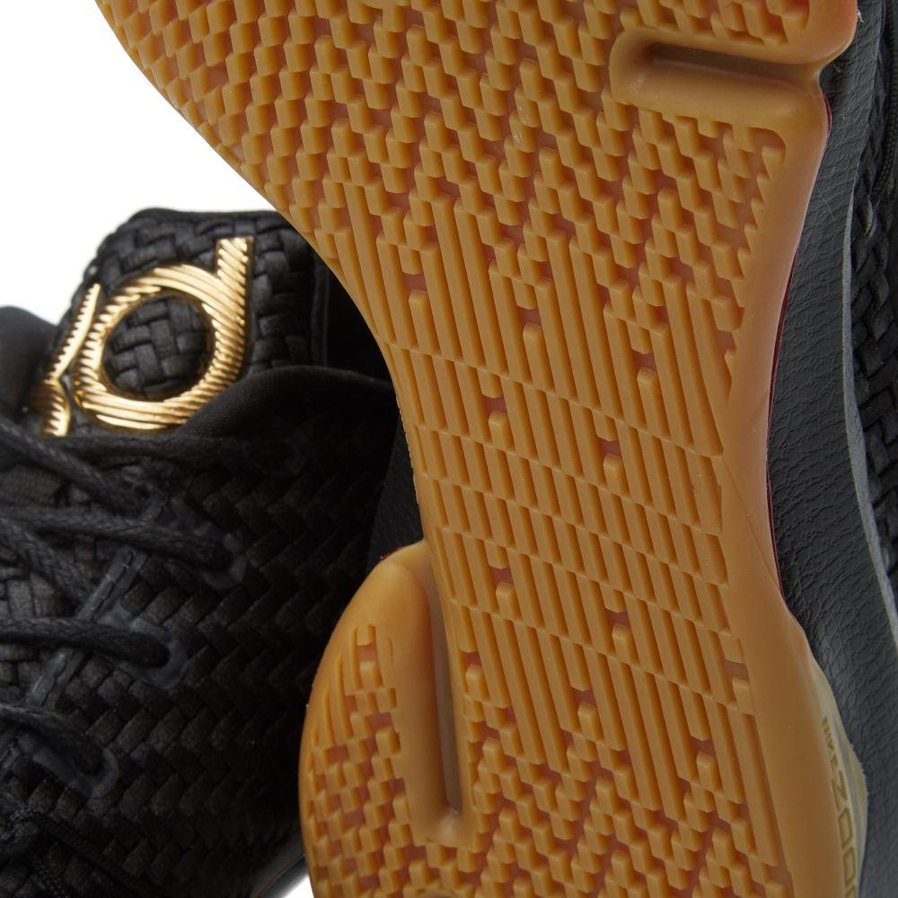 8a70d77d8093 Nike KD 8 EXT  Black Gum  Black   Metallic Gold