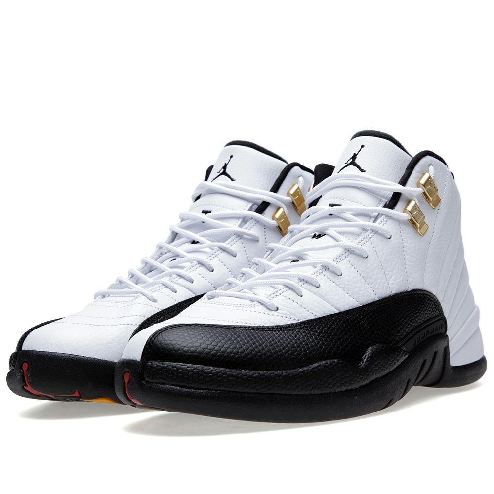 d872fc435c0891 Nike Air Jordan XII Retro  Taxi  White   Black