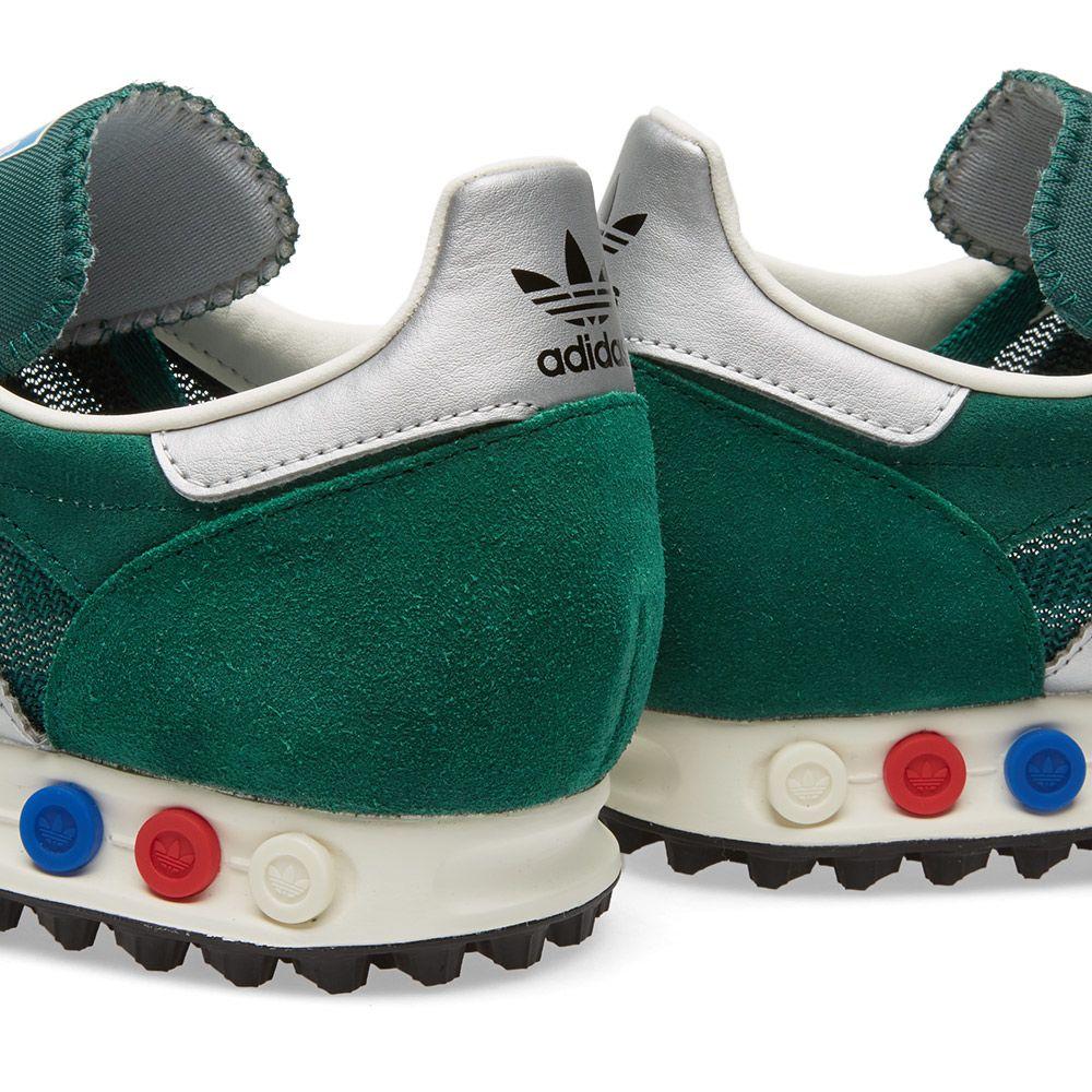Adidas LA Trainer OG. Collegiate Green   Silver. £75 £49. image 47b59bf66ce