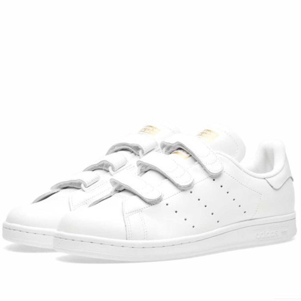 Adidas Stan Smith CF White   Gold Metallic  92325934b