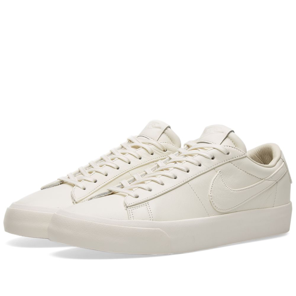 newest collection 82481 87ad1 NikeLab Blazer Studio Low QS Sail  Gum Light Brown  END.