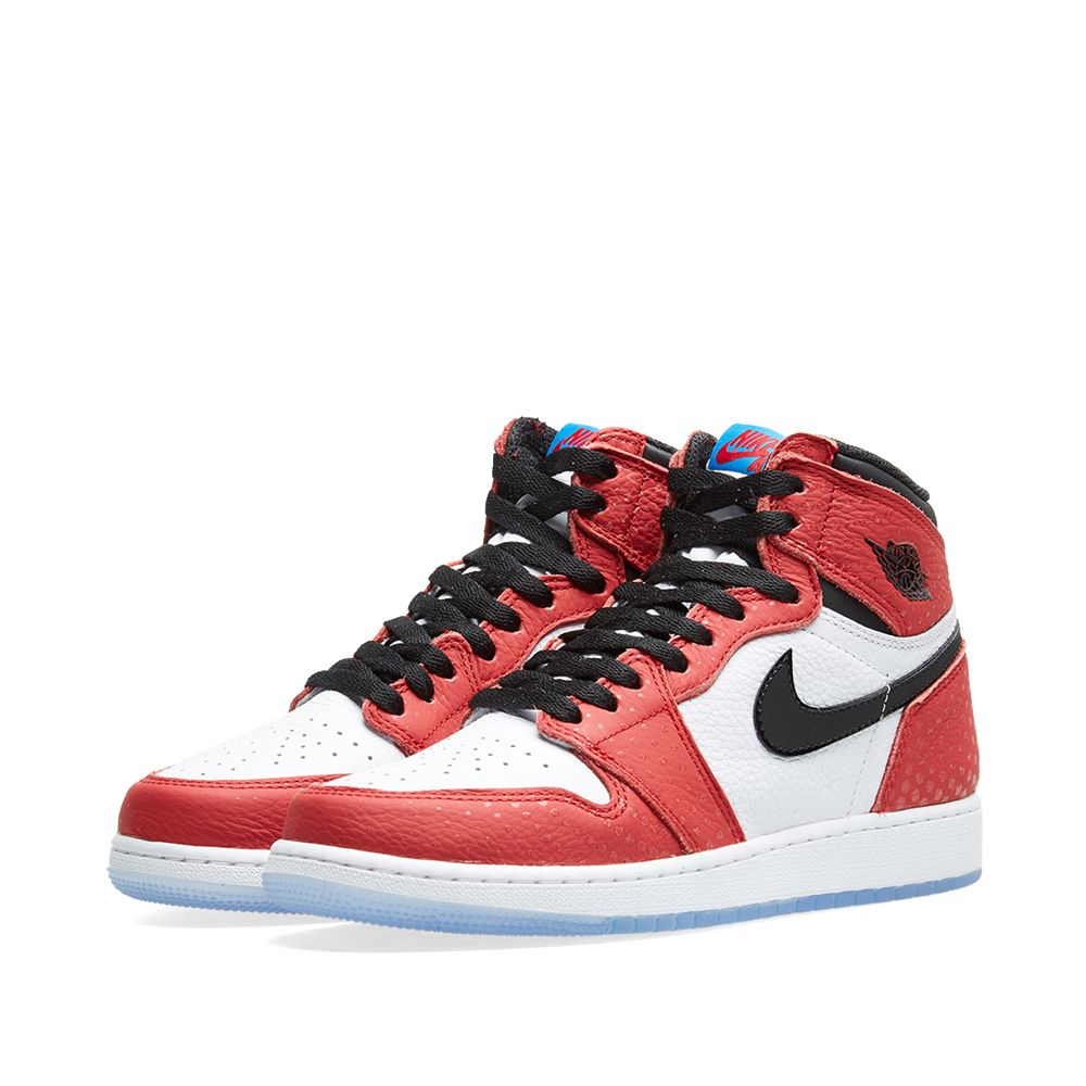 sports shoes ba602 a137d Nike Air Jordan 1 Retro High OG BG Gym Red, Black   Blue   END.