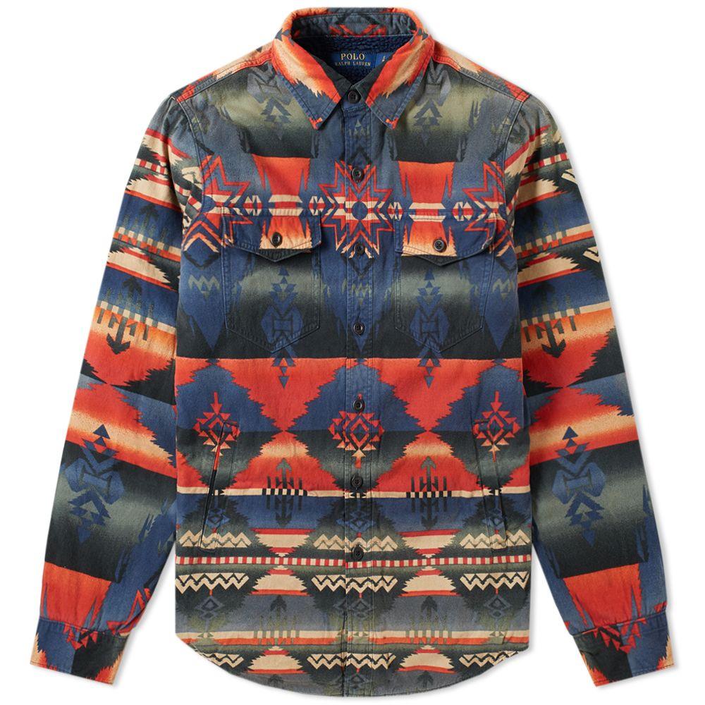 60b255f3c0 homePolo Ralph Lauren Navajo Overshirt. image. image. image. image. image.  image. image. image
