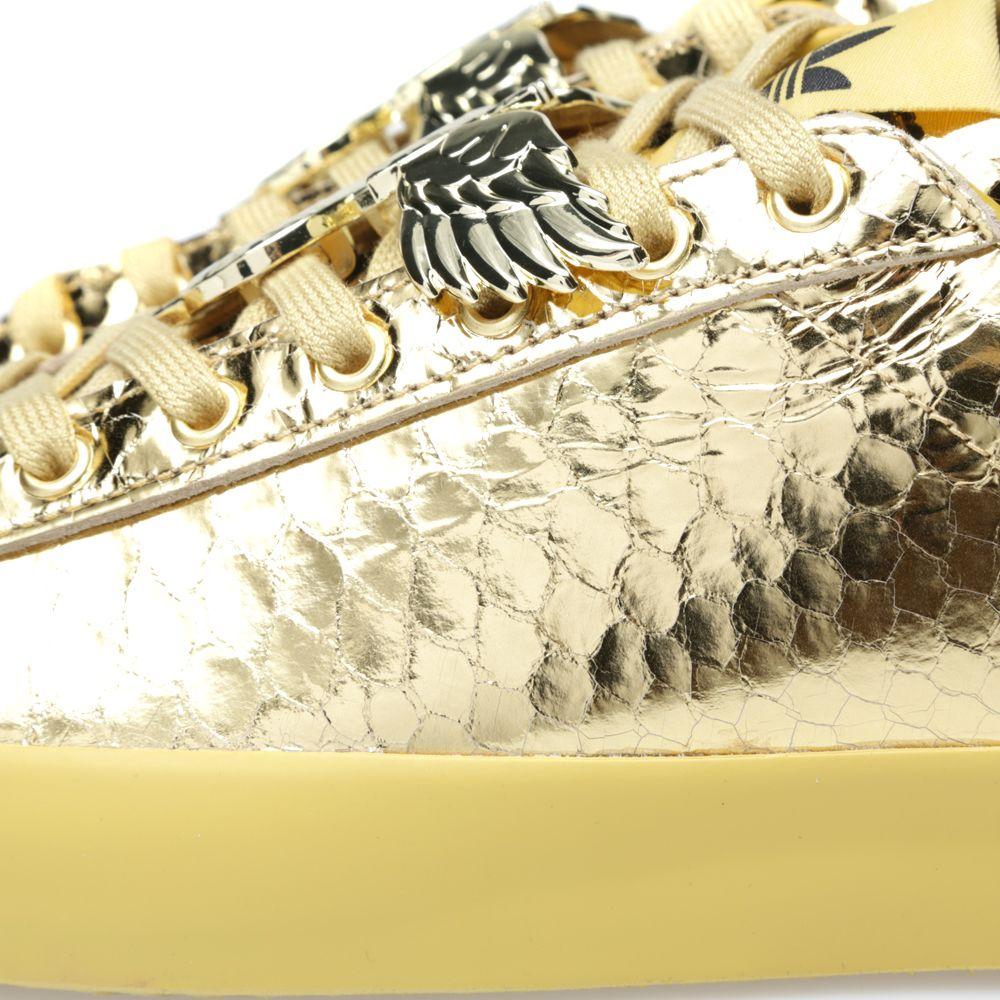 89129c3c443d Adidas ObyO x Jeremy Scott Rod Laver Metallic Gold