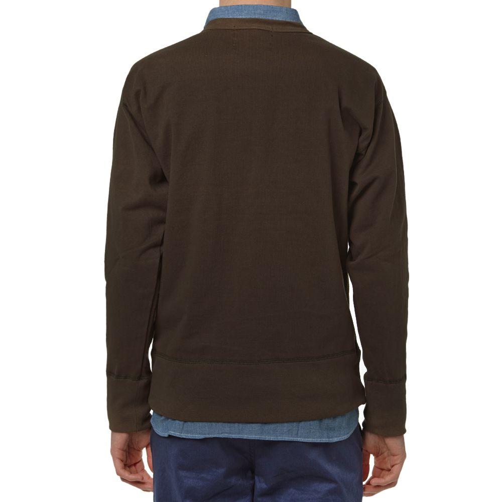 e96f55bae2af Nigel Cabourn Crew Sweater Army