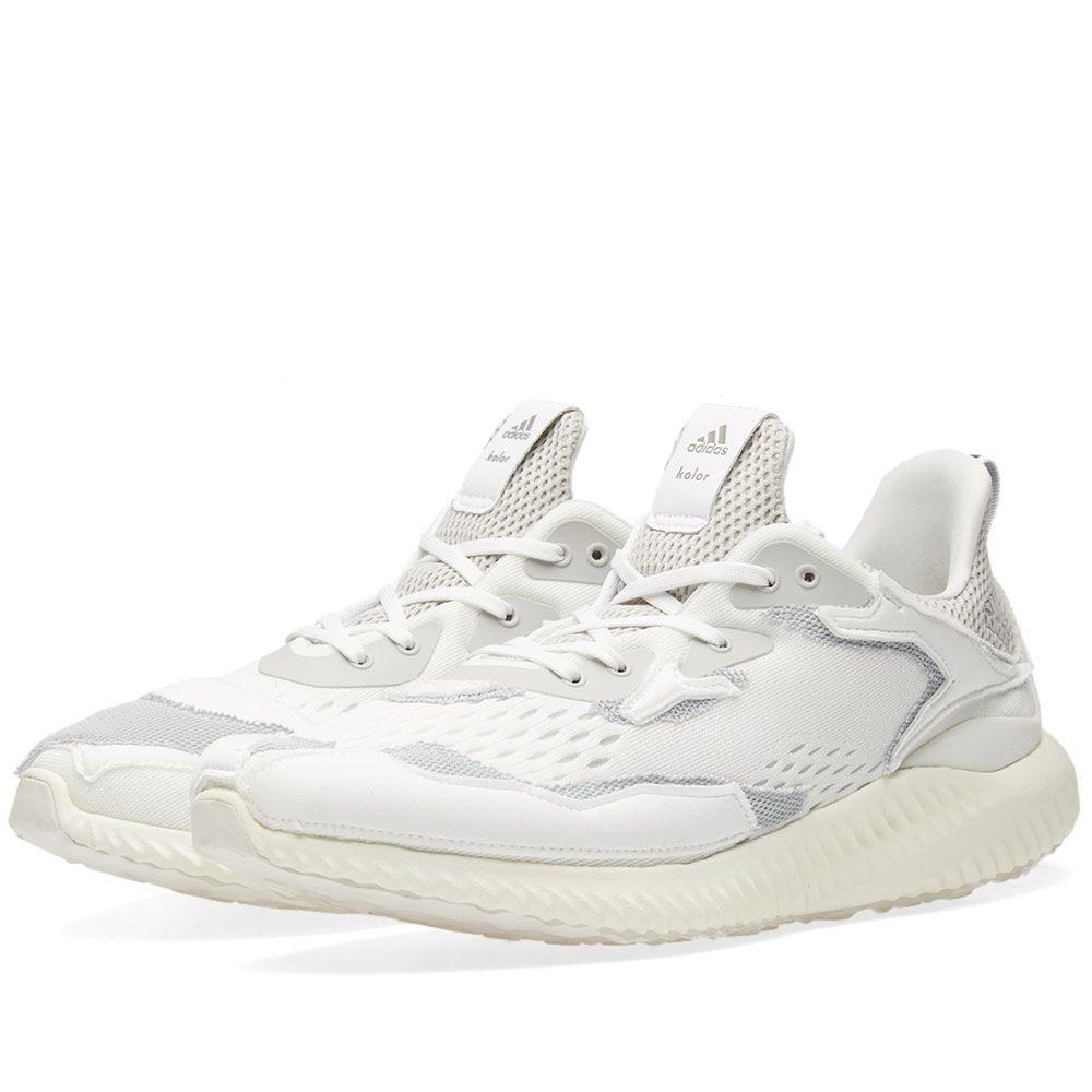 1e4be82272d Adidas x Kolor Alphabounce White   Grey