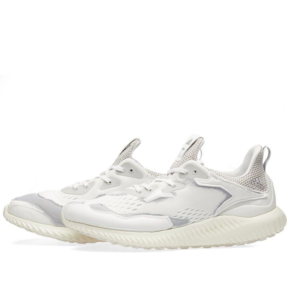 huge discount bea99 dd0dc Adidas x Kolor Alphabounce. White  Grey