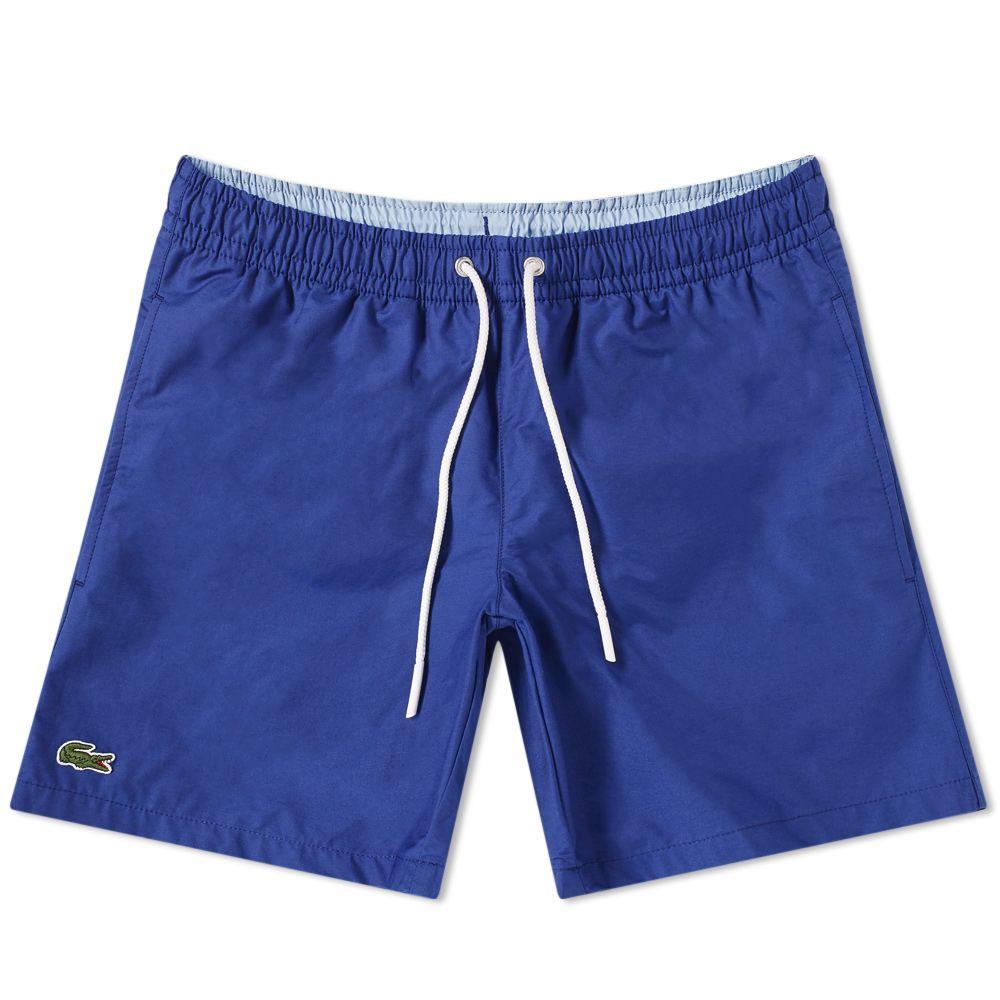 06fb77a69b81e6 Lacoste Classic Swim Short Captain Blue
