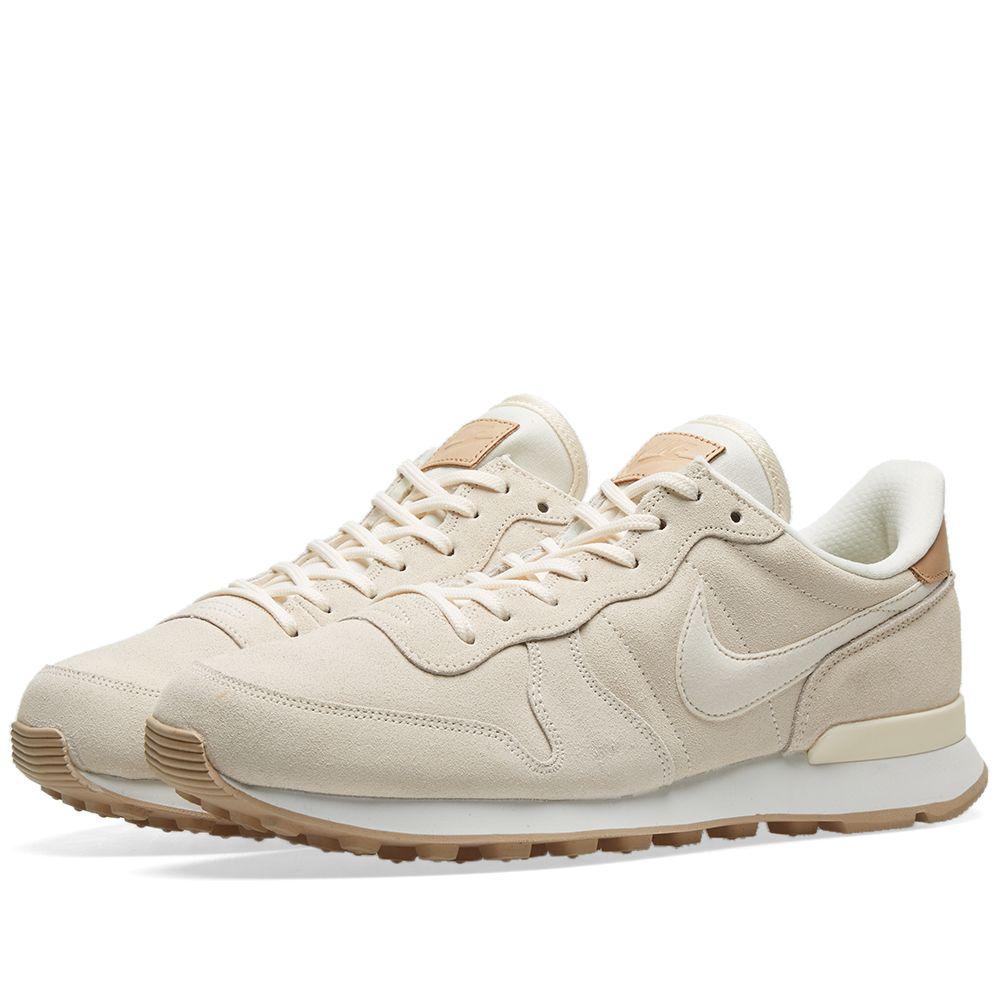 new style 1ecf1 73cac Nike Internationalist Premium W Ivory, White, Linen  Tan  EN