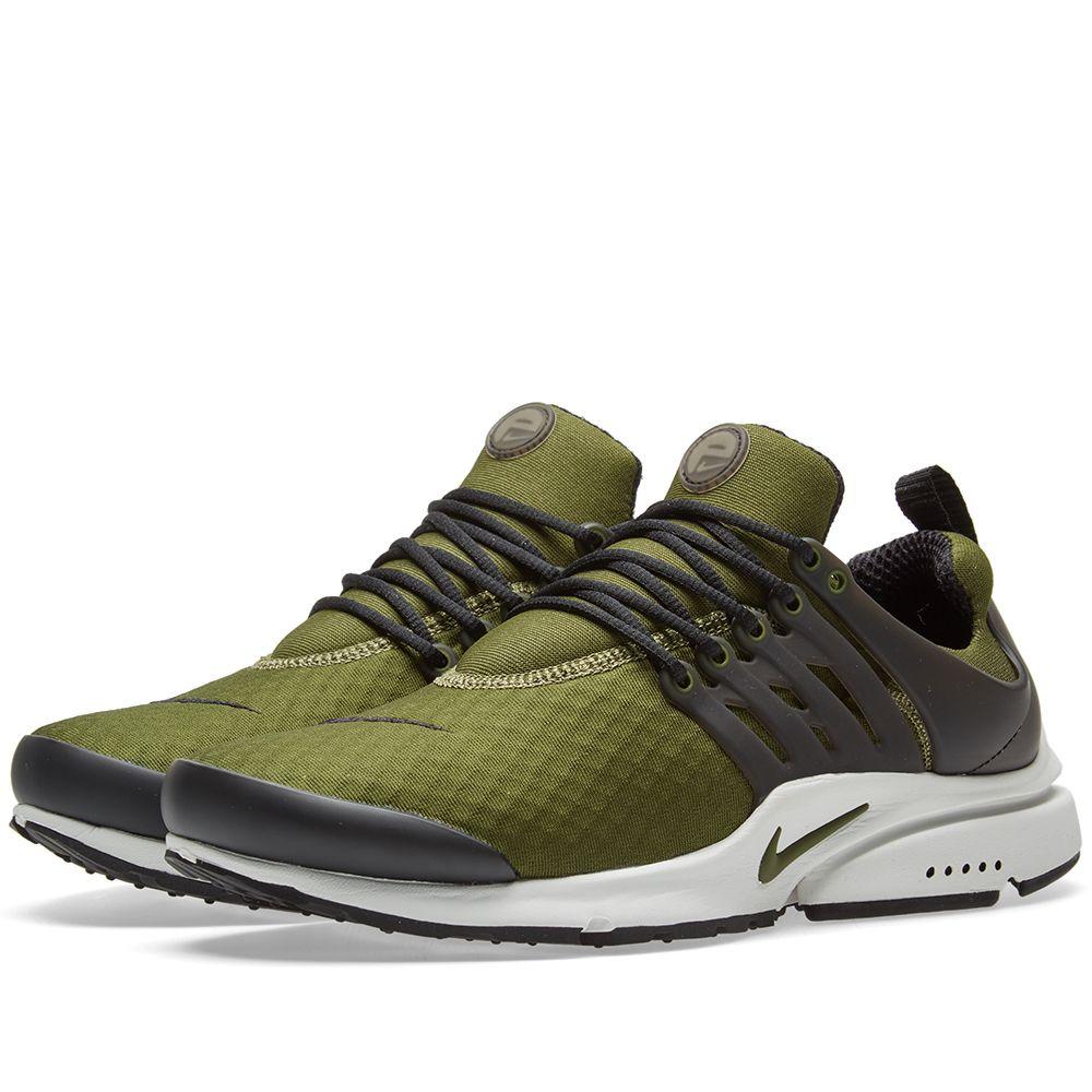 83ba6963887 Nike Air Presto Essential Legion Green   Black