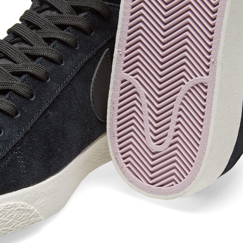 premium selection 845b7 7797b Nike Blazer Low Black, Sail   Iced Lilac   END.