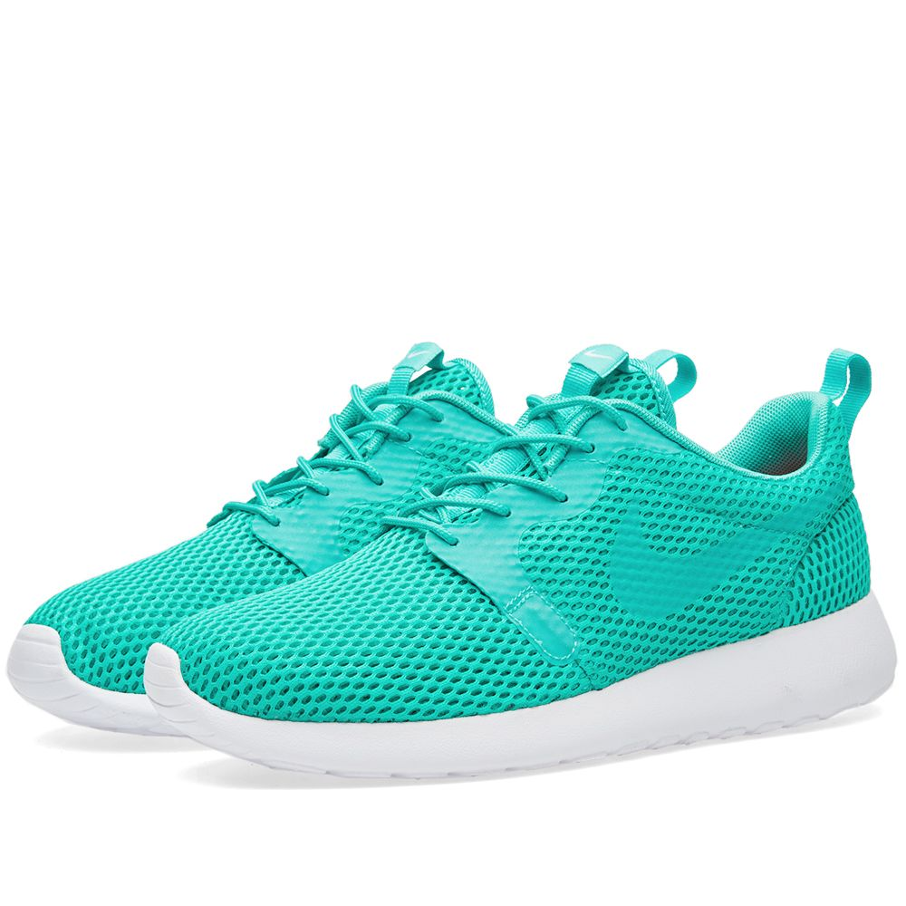 b125346d92a2 Nike Roshe One Hyperfuse BR Clear Jade   White