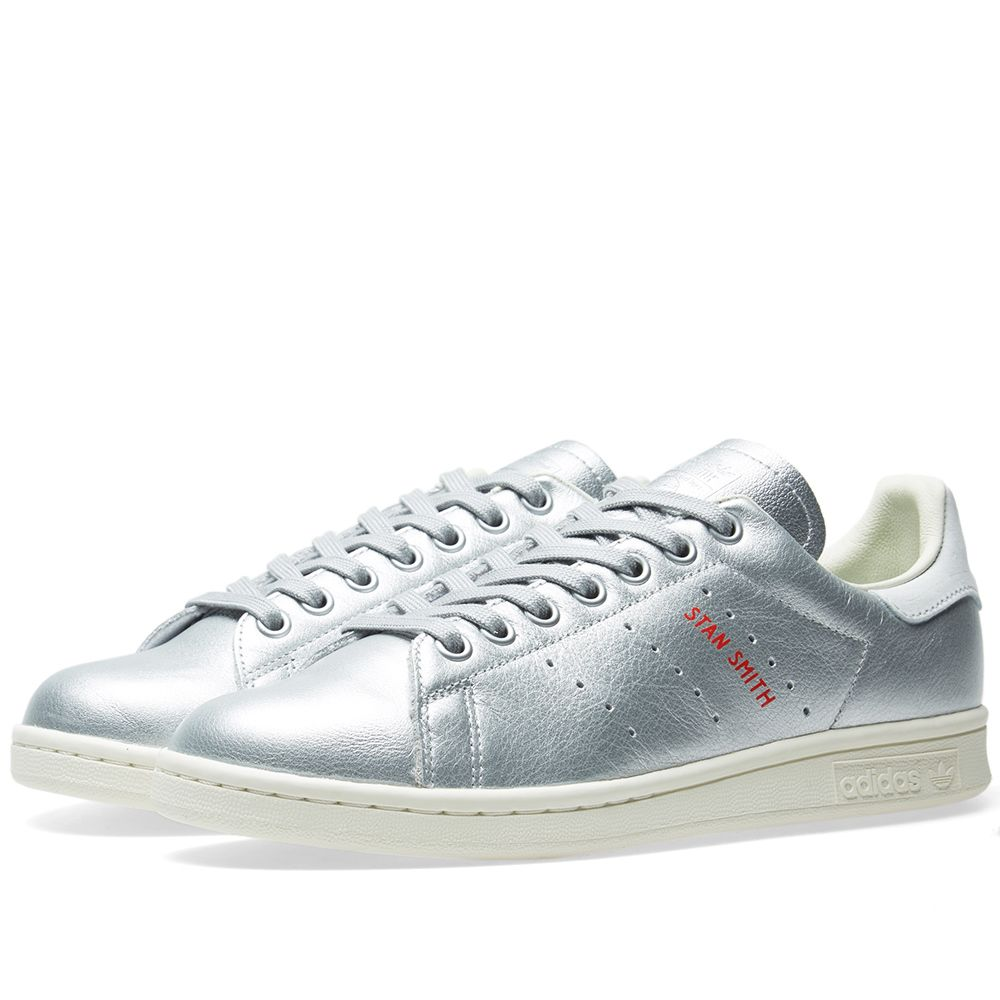 Adidas Stan Smith W Silver Metallic   Blue Tint  96ea7cb26