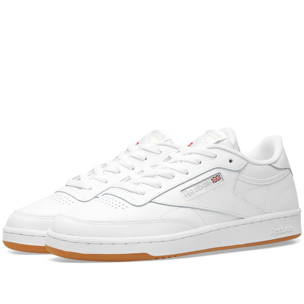 fddf1104afb Reebok Club C 85 W. White