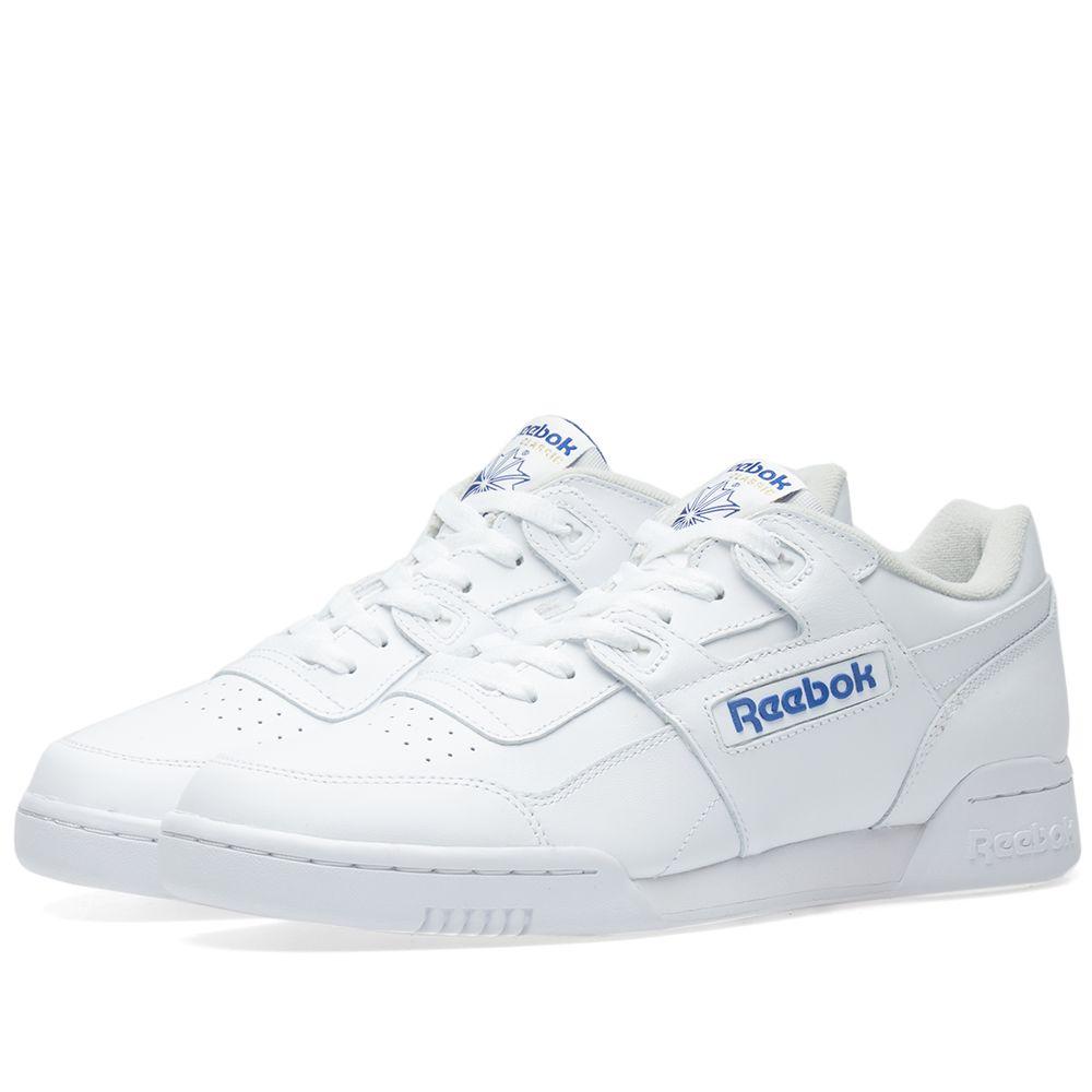 a00350821f42 Reebok Workout Plus White Royal - Reebok Of Ceside.Co